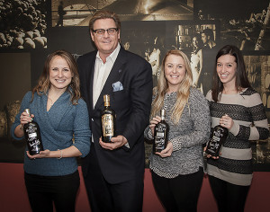 Celi Lupinacci, Business Manager, CDI; Carl Nolet, Jr., Executive Vice President, Nolet Spirits USA; Nadine Gengras, Business Manager, CDI; and Callie Zetarski, Business Manager, CDI.