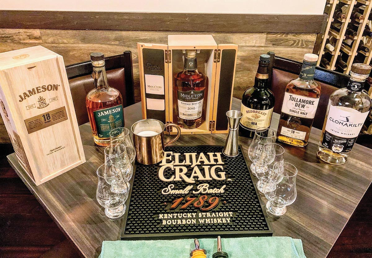 Oak Haven Table & Bar Hosts Rare Whiskey Dinner