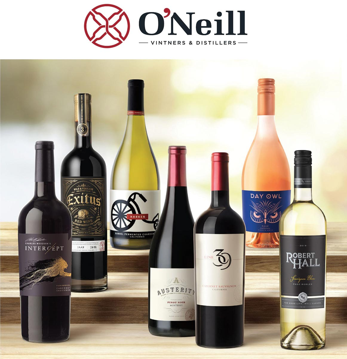 O'Neill Vintners & Distillers Full Portfolio Now in Connecticut