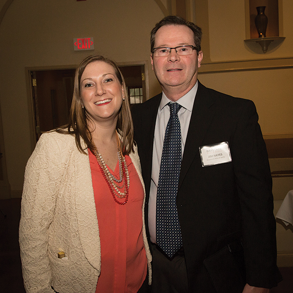 Lindsay Hurley, Sales and Marketing Coordinator, Baystate/Oceanstate Wine & Spirits and Jim Hayes, Oceanstate WineLindsay Hurley, Sales and Marketing Coordinator, Baystate/Oceanstate Wine & Spirits and Jim Hayes, Oceanstate Wine