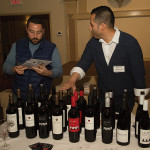 Henry Lavado, Market Manager Northeast, Alcohol by Volume (right) with a guest.