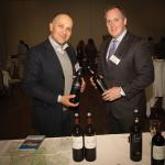 Lorenzo Ficini, Sales and Marketing, Poggio Bonelli Wines and Sean Frazier, Director of Sales, Baystate/Oceanstate Wine & Spirits.