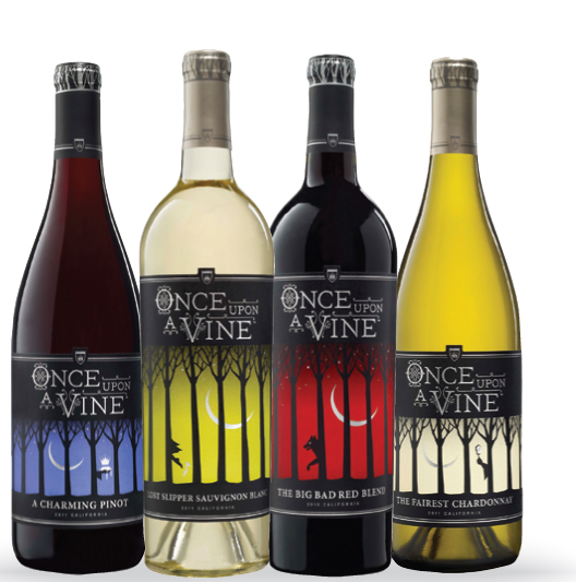 ONCE UPON A VINE: CLASSIC VARIETALS, CATCHY NAMES