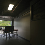 The company renovated an old loading dock to include more seating space in its tasting room.