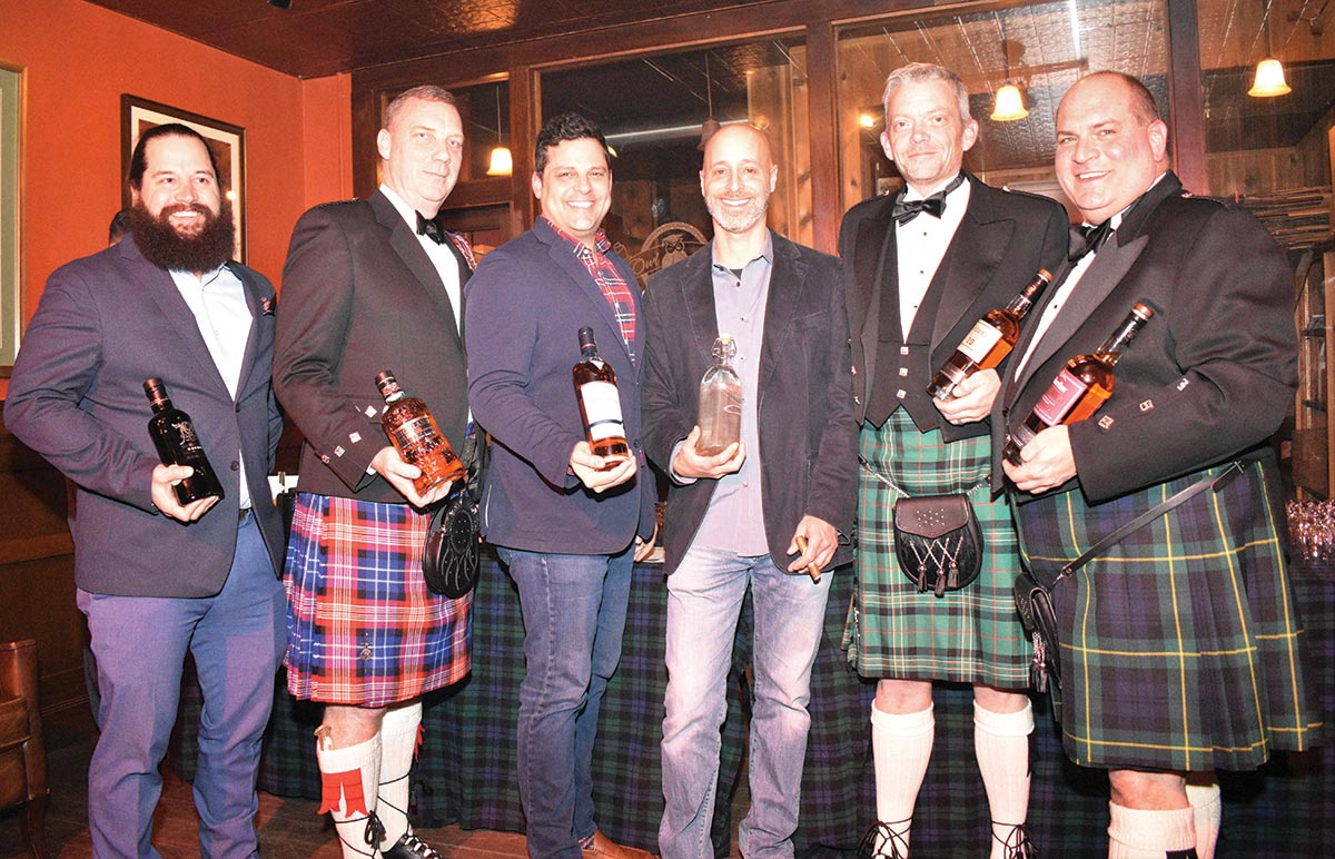 Scotch Brands Highlighted for New Haven Robert Burns Day Tasting