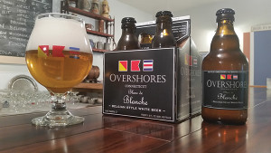 Courtesy image of Overshores Brewing Co. Gold Medal Winner, Blanc de Blanche Wit.