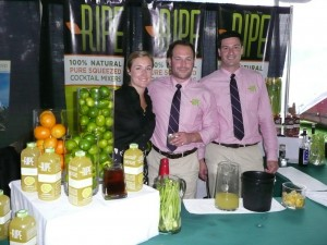 Candace Boissy, Brand Ambassador; Michel Boissy, CEO/Co-Founder; and Ryan Guimond,Operations Manager/Co-Founder. All of RIPE.