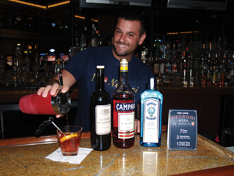 GLOBAL CAMPARI NEGRONI WEEK MAKES RHODE ISLAND IMPACT