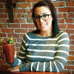 Mixologist Nikki Simches & The Barley Vine Smoked Bacon Bloody Mary