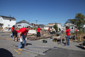 DIAGEO NORTH AMERICA HELP HABITAT FOR HUMANITY REBUILD HOMES