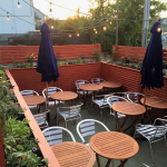 Pane e Vino recently opened their outdoor dining patio for the 2016 spring and summer seasons.
