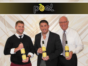 Matt Mezick, Sales Representative, Hartley & Parker; Gianfranco DiDomenico, Chief Operating Officer, Peel Liqueurs; and Blaise Tramazzo, District Manager, Hartley & Parker.