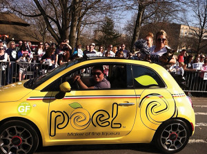 Peel Liquers taking part in UCONN's victory parade