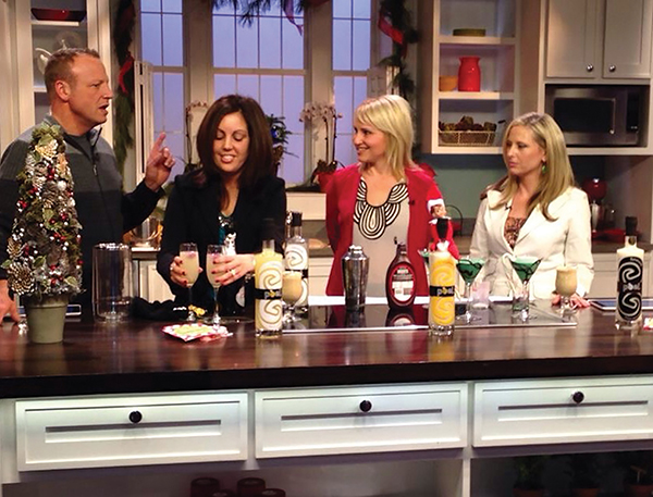 "PEEL MAKES HOLIDAY COCKTAILS ON ""BETTER CONNECTICUT"""