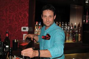 "Winner Josh Pekar presenting ""Breakfast in Manhattan"""
