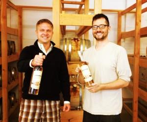 Co-Founders of Onyx Spirits Company, Adam von Gootkin and Pete Kowalczyk