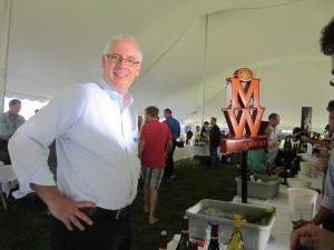 Peter Curry, sales representative Mark West Wines
