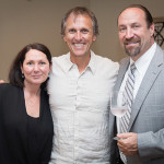 Michelle Ortago, Business Manager, CDI; Winemaker Joel Gott; and Steve Slota, Off-Premise Division Manager, CDI.