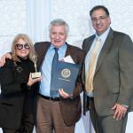 Lifetime Achievement Award winner Vincenzo Iemma of Capriccio & Café Nuovo, with Venturini and Sculos.