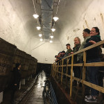 The sales team during a tour at the Pilsner Urquell Brewery in Pilsen.