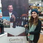 Customers at Amity Wines and Spirits in Hamden on