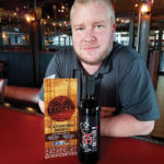 Frank DelGreco, General Manager, Local Kitchen & Beer Bar, with 5X Better, an Italian red blend.