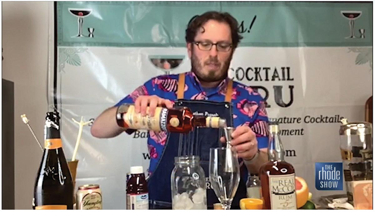 WPRI-TV Showcases Memorial Day Cocktail Guru Segment