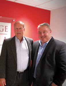 BevBiz Marketing's Jeff Grindrod, Founder and CEO, and Bob MacNevin, V.P. Sales and Business Development.