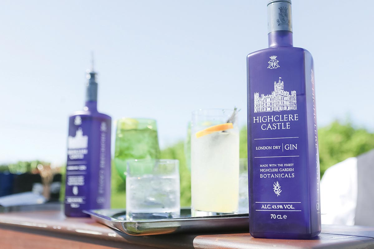 Highclere Castle Gin Launches with Ocean House Croquet Party