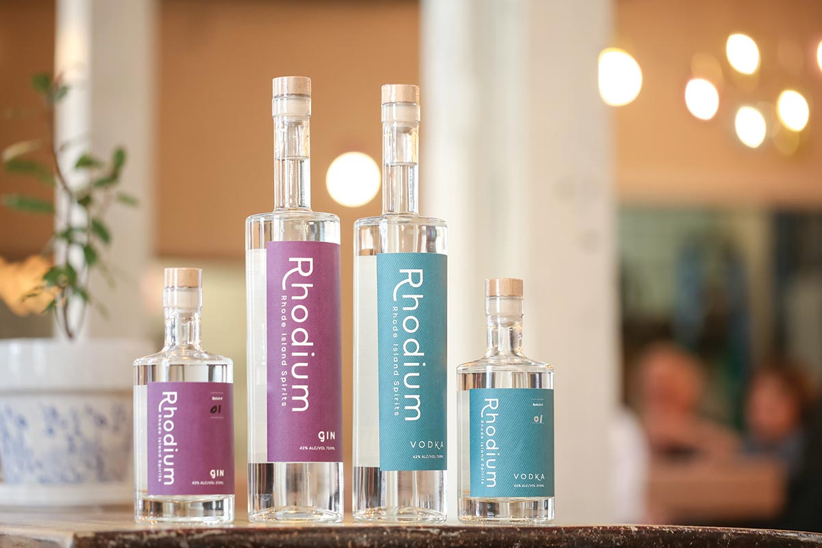 Rhode Island Spirits Opens Distillery and Tasting Room