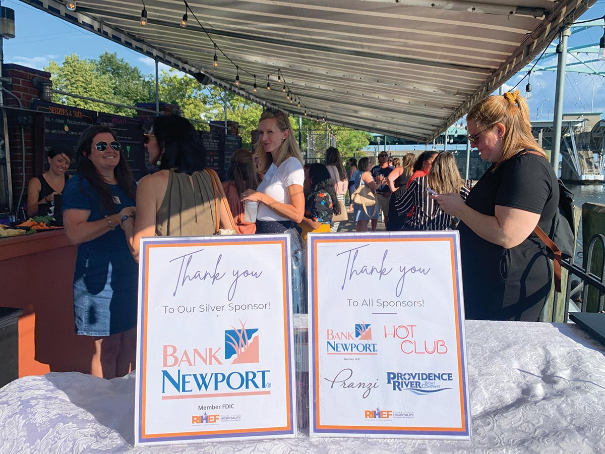 Women in Hospitality Event Cruises Providence River