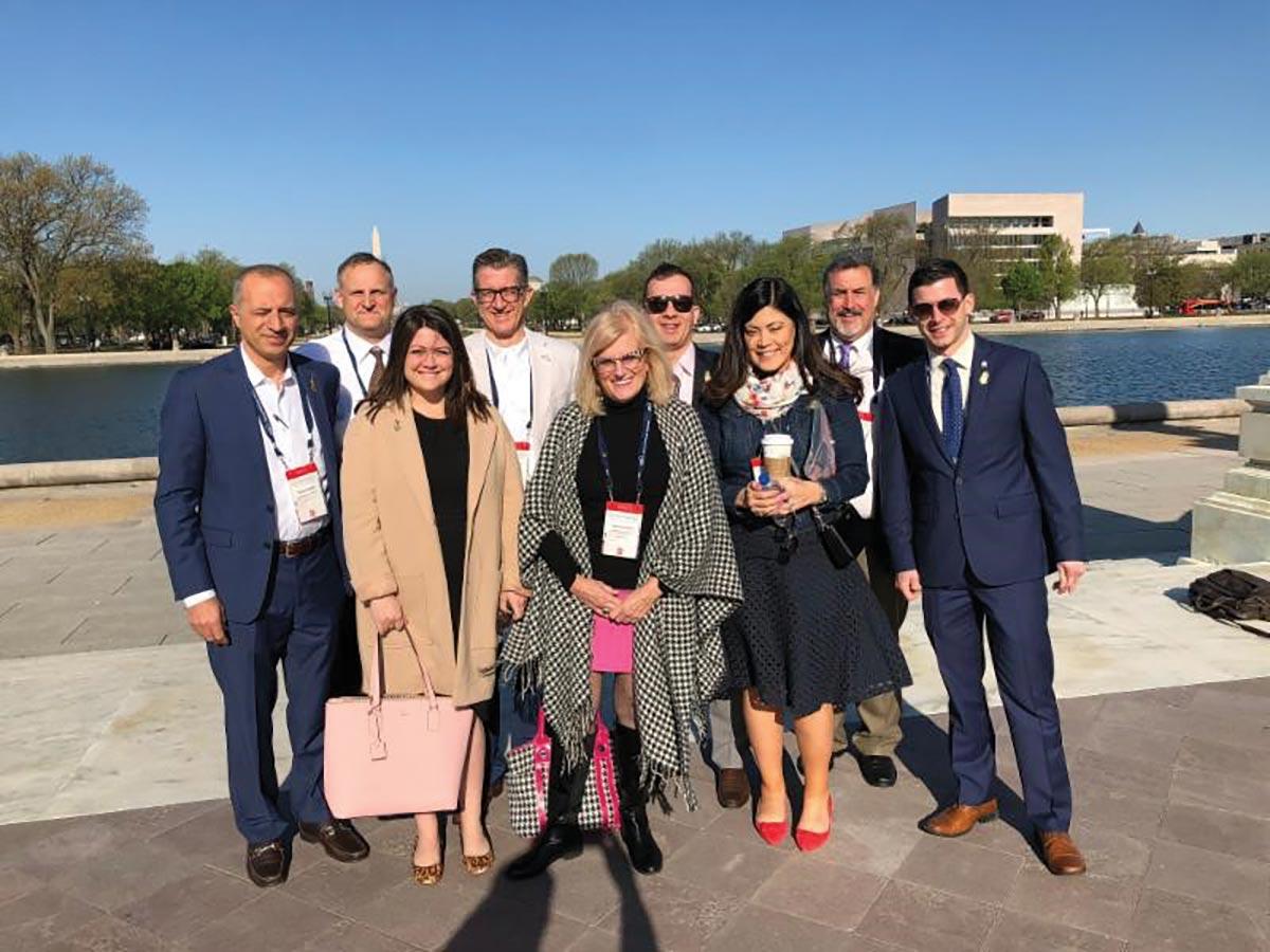 RI Hospitality Association Travels to Washington