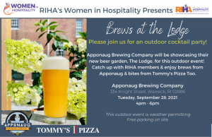 Women in Hospitality Presents Brews at the Lodge @ Apponaug Brewing Company | Warwick | Rhode Island | United States