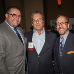 Michael Lester, On-Premise Manager, M.S. Walker; Al Zannella, Vice President Sales and Marketing, Rhode Island Distributing Co.; and Frank Martucci, General Manager of Beverage Operations, Twin River Casino.