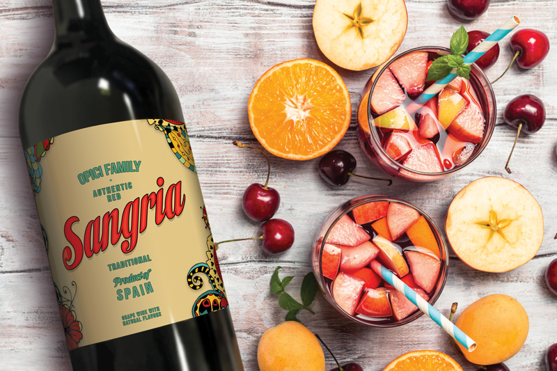 Opici Family Sangria Hits the Shelves by Bottle & Box