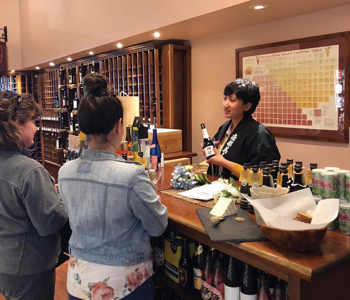 Spirits and Wine Professionals Visit East Greenwich