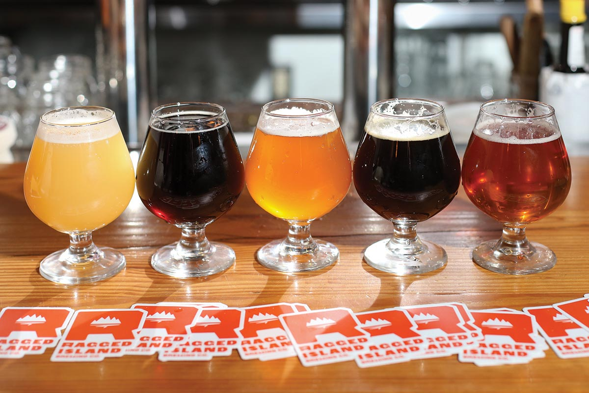 Ragged Island Brews Take Over Taps at Chomp