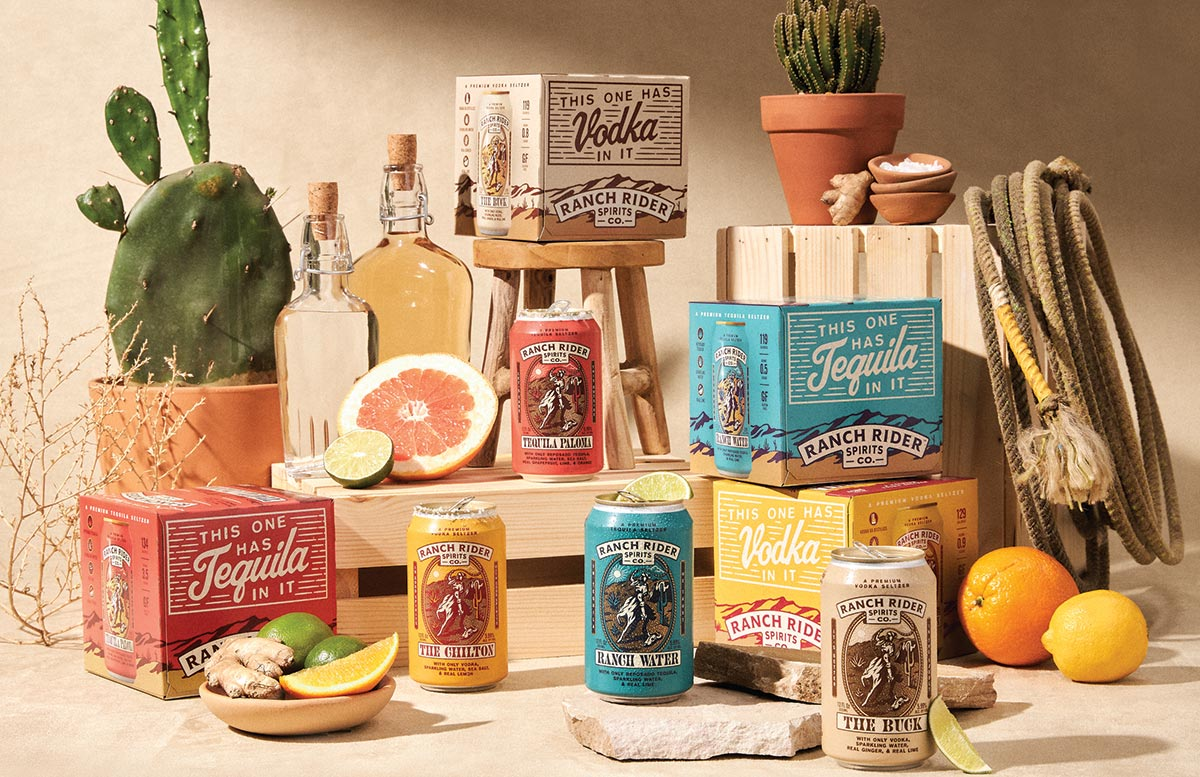Hartley & Parker Adds Austin-Based Ranch Rider Hard Seltzers