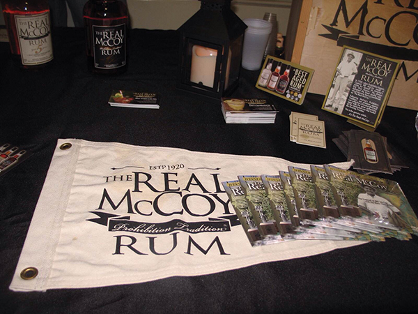 Real McCoy Rum Attends Whiskey Fest