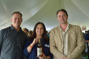 Real McCoy Rum Brand Ambassador Vernon Rauch; Joanne Kletecka, Senior Vice President of Marketing; and Bailey Pryor, Founder & CEO, Real McCoy Spirits, Co. at Worldwide Wines' fall tasting.