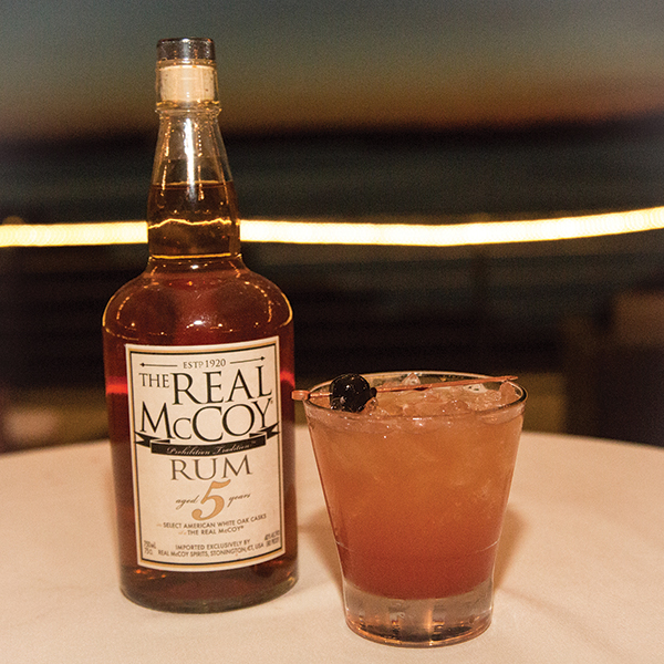 Real McCoy Rum and Roth's winning cocktail.