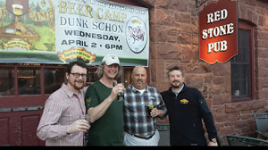 Jon Stack, Hartford Distributors/Franklin; Marc Lubetkin, Red Stone; Marty Juliano, Sierra Nevada; Brett Hollander, Hartford Distributors/Franklin.