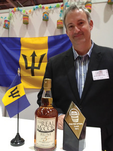 Richard Seale, Master Distiller of Real McCoy Rum.