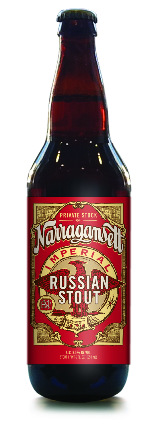 Narragansett Beer Announces New Imperial Russian Stout