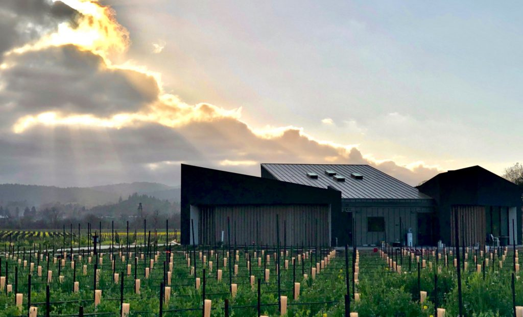 Aperture Cellars in Sonoma benefited from a dry, low-yielding harvest. Photograph courtesy of Aperture Cellars.