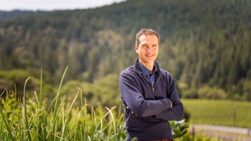 Arnaud Weyrich winemaker for Roederer Estate. Photograph courtesy of Roederer Estate.