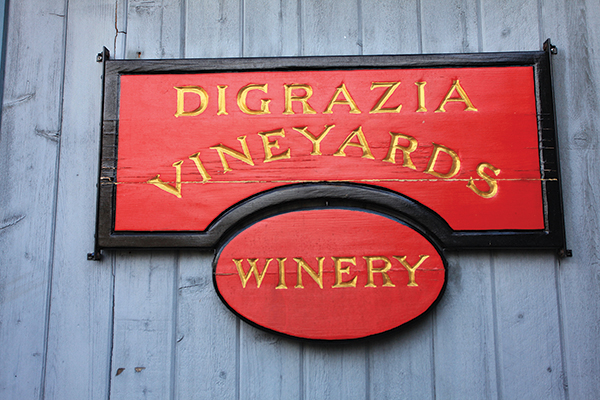 Vineyard View: DiGrazia Vineyards