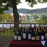 A table display against the scenic backdrop at the Hopkins Inn.