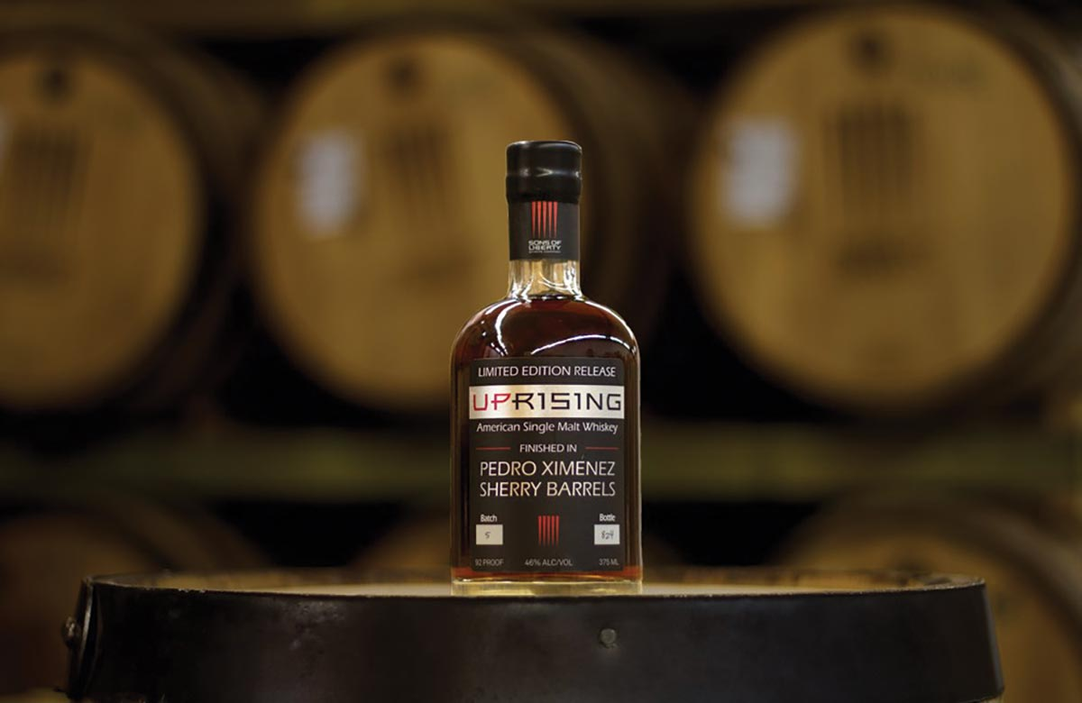 Sons of Liberty Limited Edition Whiskey Takes Best in Show