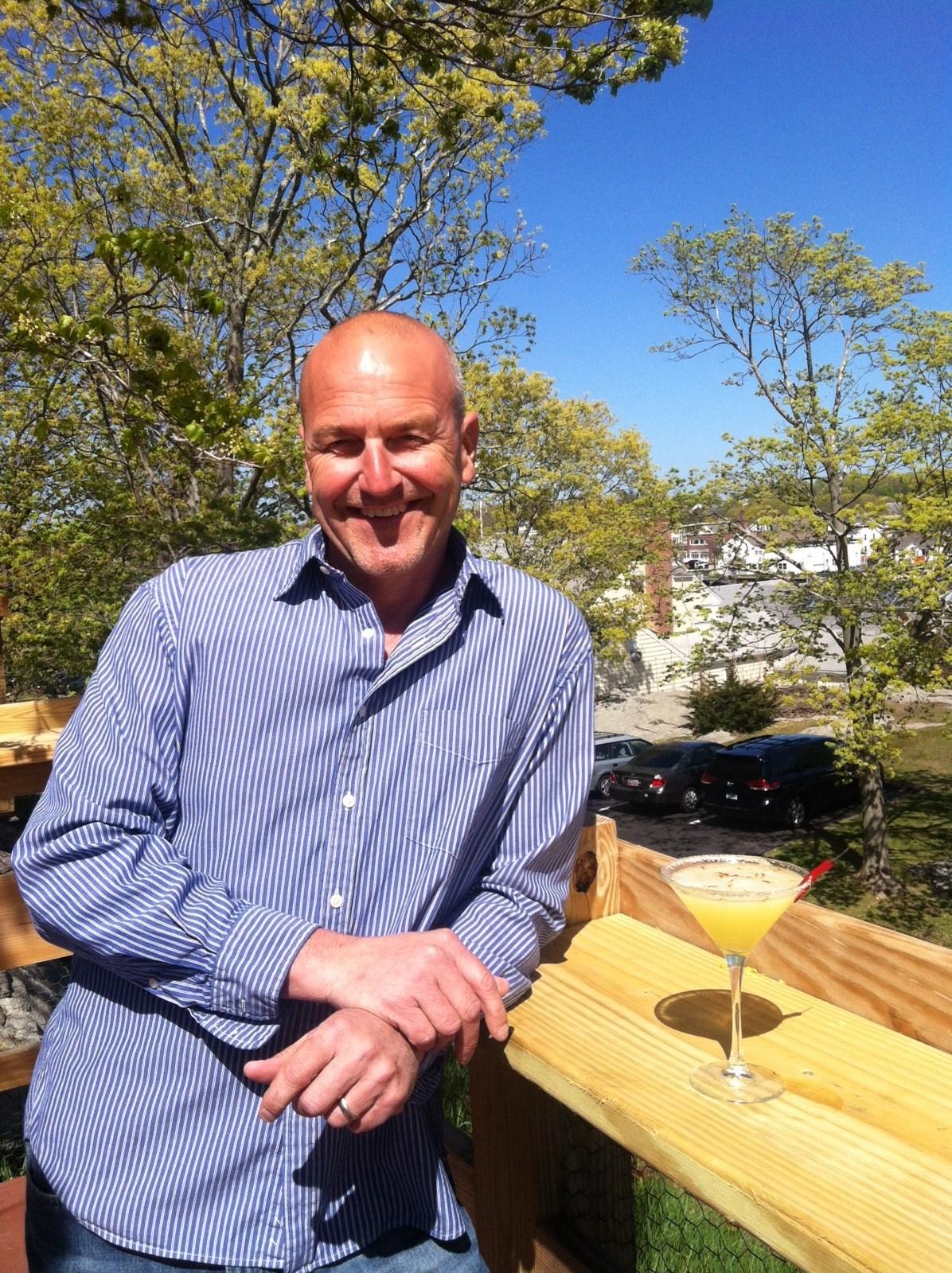 Serving Up: Oyster Club's Safflower Margarita